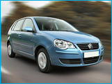 Rent a Volkswagen Polo 2008